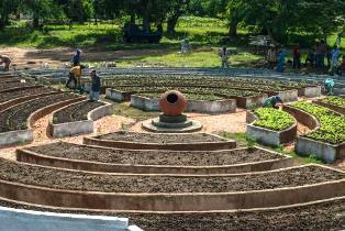 Construyen en Camagüey primer organopónico circular de Cuba