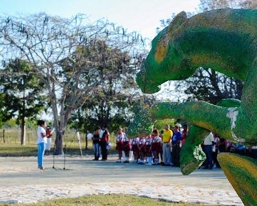 Rinden tributo en Vertientes, Camagüey, a Ignacio Agramonte