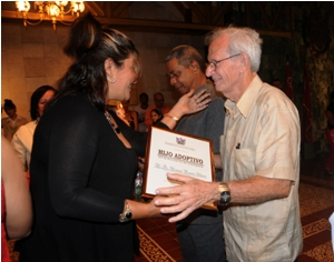 Reconocen en Camagüey a personalidades de varias esferas de la sociedad