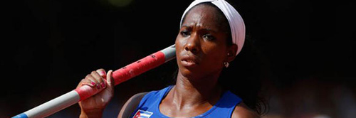 Cuban Yarisley Silva wins in pole vault in Italy