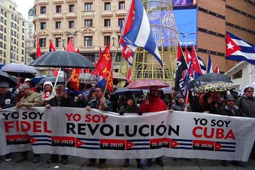 Solidarity with Cuba is present in practically all countries on the planet. Photo: Prensa Latina/ taken from Granma
