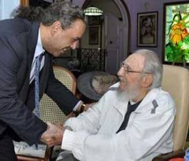 Fidel Castro meets President of National Olympic Committees