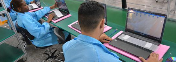 Quality control a priority in the assembly of laptops in Cuba