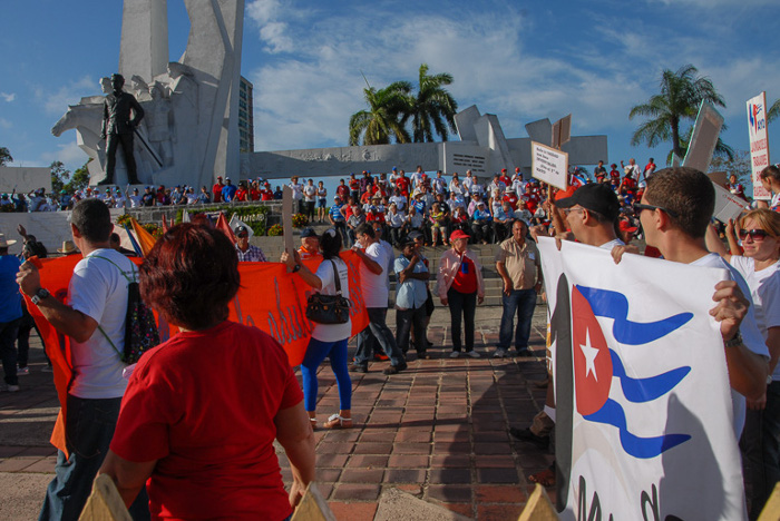 May Day: Cuba rejects attacks on Venezuelan Revolution