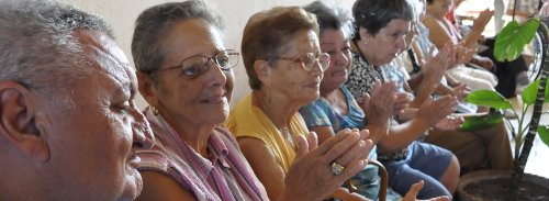 In Cuba the elders are protected