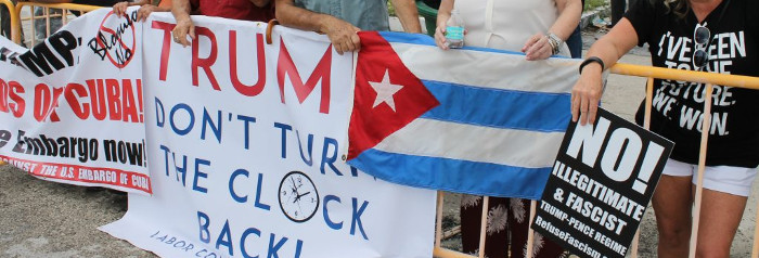 Support of Cuba after Trump´s announcement grows