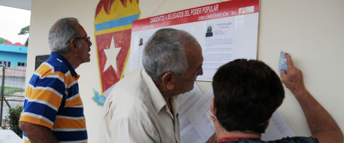 Electoral arrangements in Camagüey