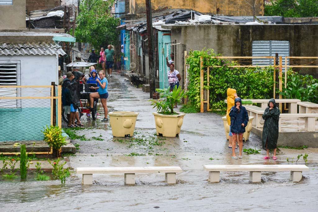 Estragos de Irma son visibles en la ciudad de Camagüey (+ Fotos y Video)