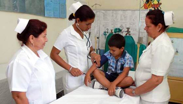 Cuban nurses are superbly trained