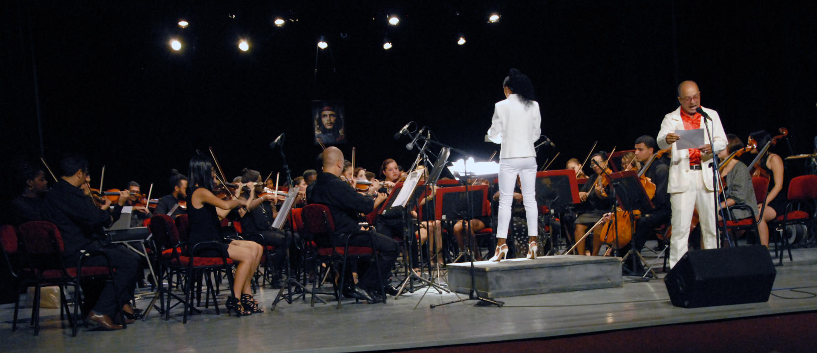 Jornada sinfónica en Cuba rinde homenaje al Che Guevara