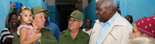 The president of the Cuban Parliament recognizes remedial capacity of the Camagüey´s citizens