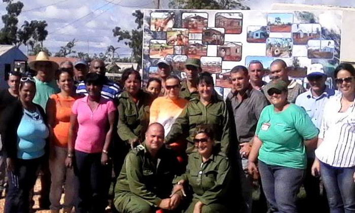 Leaders of the Popular Power see progress of the recovery in Esmeralda