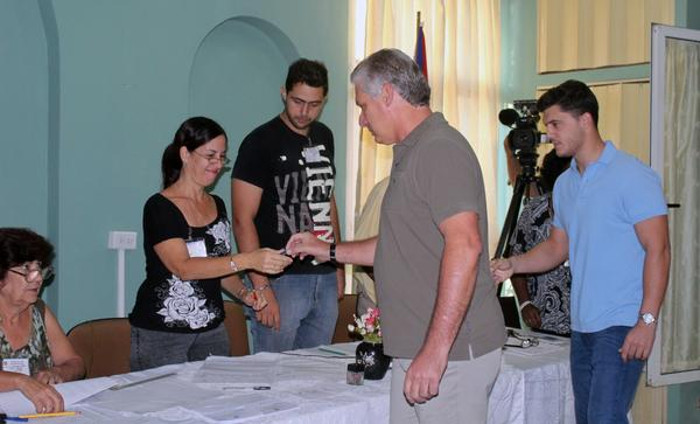 Cuban First VP praises role of young people in elections
