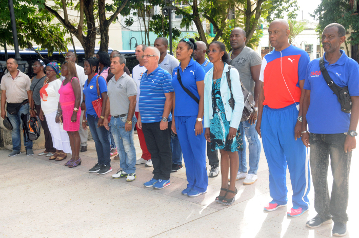 Cuban athletes pay tribute to the eponymous hero of the Camagüey ( Photos)
