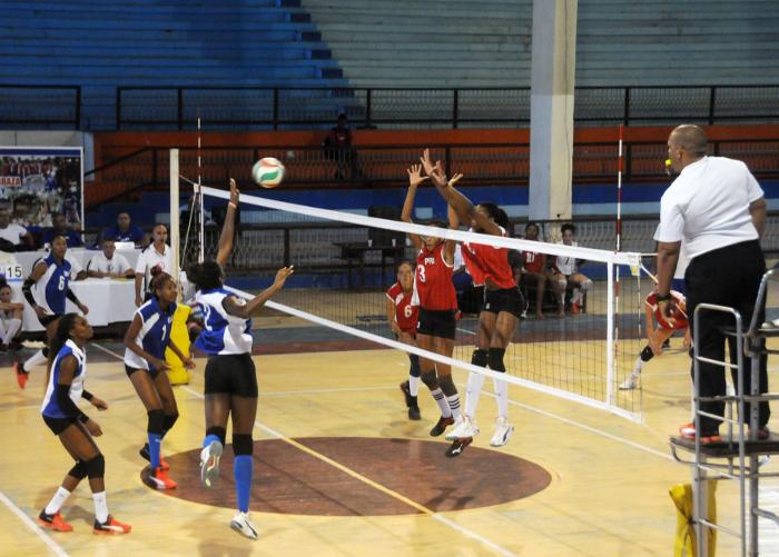 Capitalinas lideran acciones del torneo nacional de Voleibol (f)