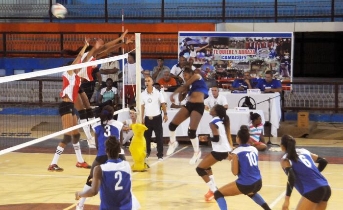 Camagüeyana Ruiz resultó mejor líbero de Campeonato Nacional de Voleibol (f)