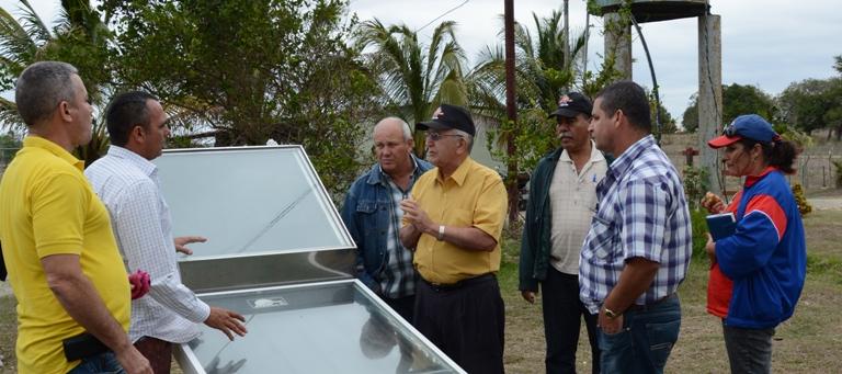 Constatan en Camagüey labores de recuperación del sector agroalimentario