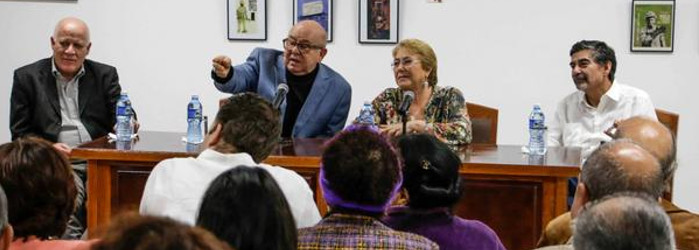 President Bachelet highlighted cultural ties between Cuba and Chile