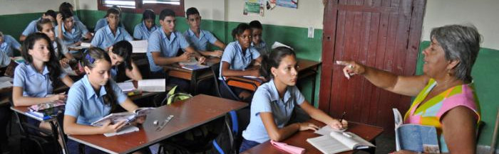 Camagüey´s students receive preparation for Admission to Higher Education