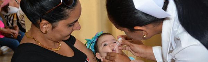Children in Camaguey Receive Vaccine against Polio