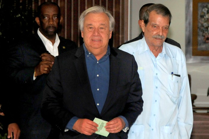 UN Secretary General thanks Cuba for its Hospitality