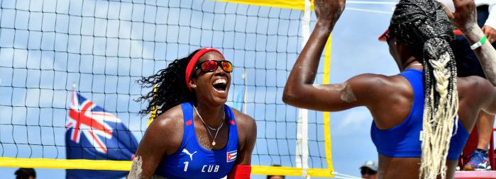Cuban Duo wins Gold in Beach Volleyball World Tour