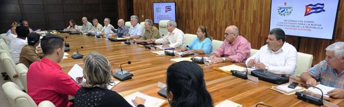 Cuba: National Assembly of People's Power Committees in session