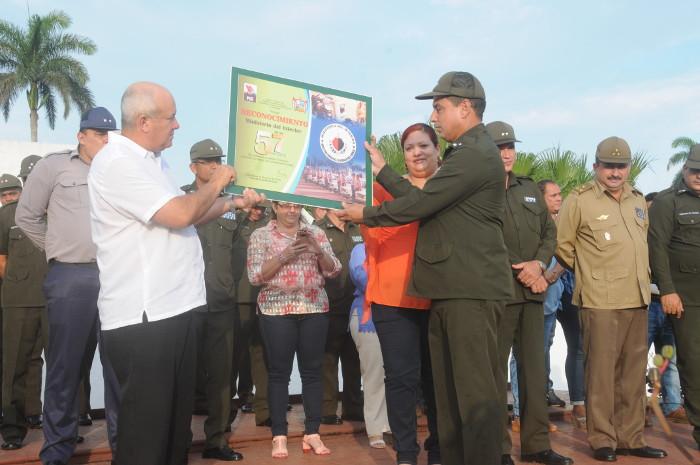 Celebran en Camagüey aniversario 57 del Ministerio del Interior