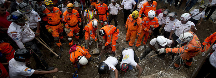 Rescuers Continue Search for Survivors in Guatemala