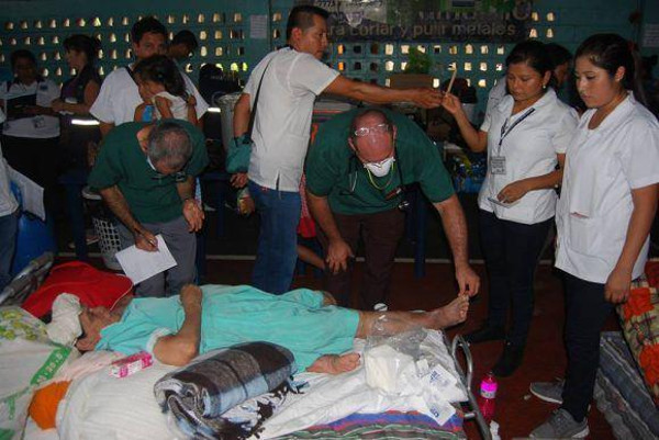 Cuban Physicians provide Services to Guatemalan People affected by Volcanic  Eruption
