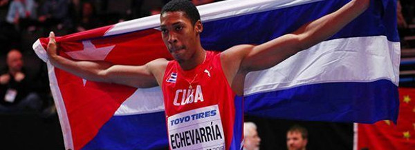 Cuban Echevarria, Current Long Jump World Sensation, to compete today in Ostrava