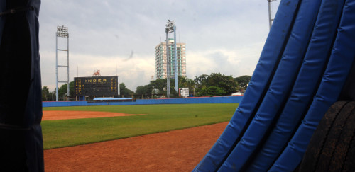 Almost ready the Candido González Ballpark
