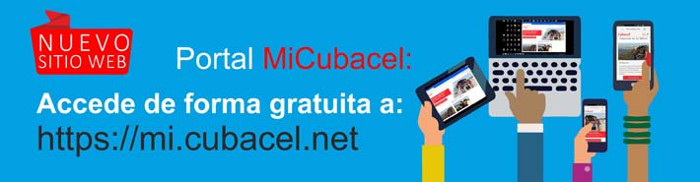 Disponible en Cuba sitio digital MiCubacel