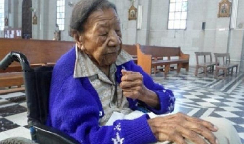 The oldest Cuban woman