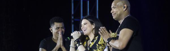 Gente de Zona and Laura Pausini seduce Cuba in a unique concert