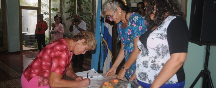 Distinguished Camagüey´s women emphasized by anniversary 58 of the Federation of Cuban Women