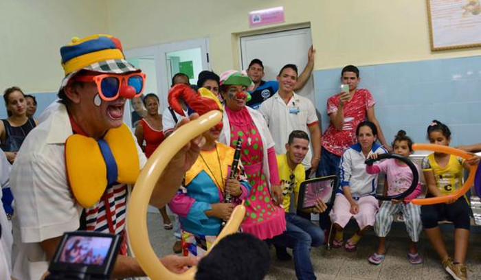 Laughter in Camagüey is diagnosed