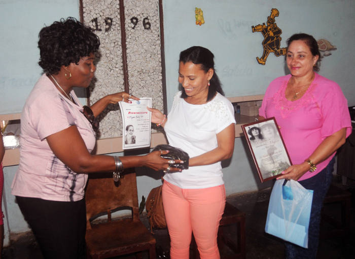 In Camagüey the day of rural woman is celebrated