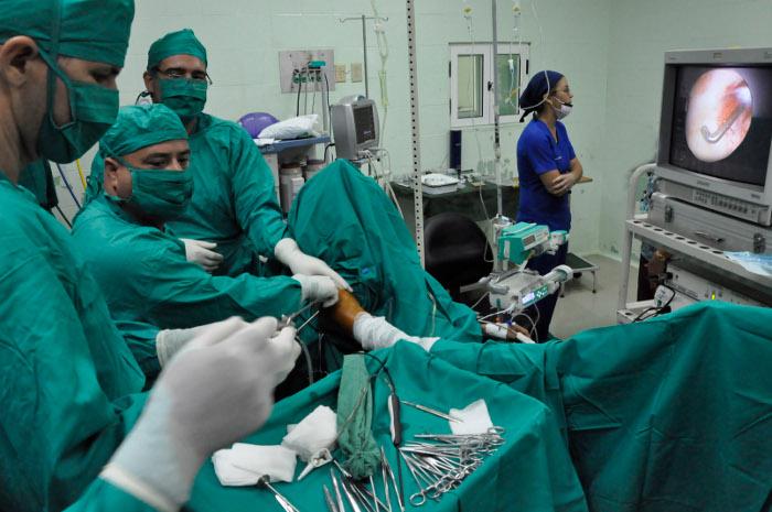 En Camagüey taller regional de Artroscopia de hombro