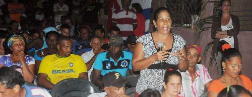 By the community the 132, in the popular council Jiquí, of Esmeralda, viciously whipped with by the hurricane Irma, rehabilitated almost completely and where the Revolution left no family helpless, began last Thursday the first process of accountability of the current Period of mandate of the People's Power in Camagüey.