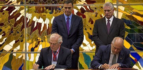 Spain and Cuba sign MoUs for cooperation