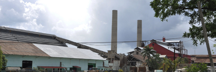 Panama, third sugar mill of Camagüey that produces sugar in the present harvest