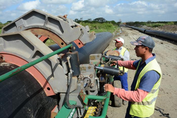 El programa hidráulico de Camagüey también es obra de la Revolución