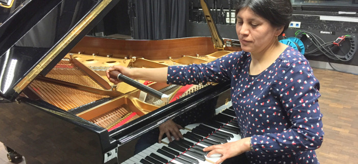 De los Andes a los Alpes: las resonancias de Romina