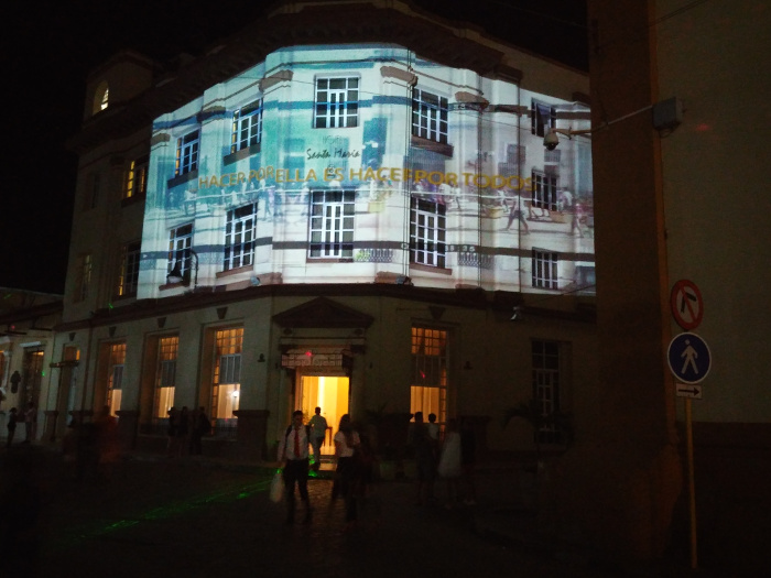 Un video mapping para Camagüey (+ Video)