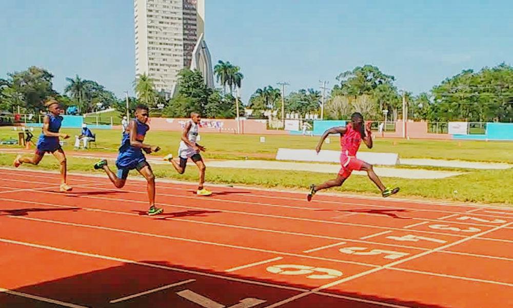 Camagüey quedó tercera en el Atletismo de Juegos Nacionales Escolares