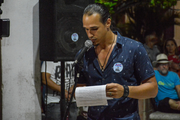 Noveles creadores camagüeyanos rechazan ley injerencista de EE.UU.