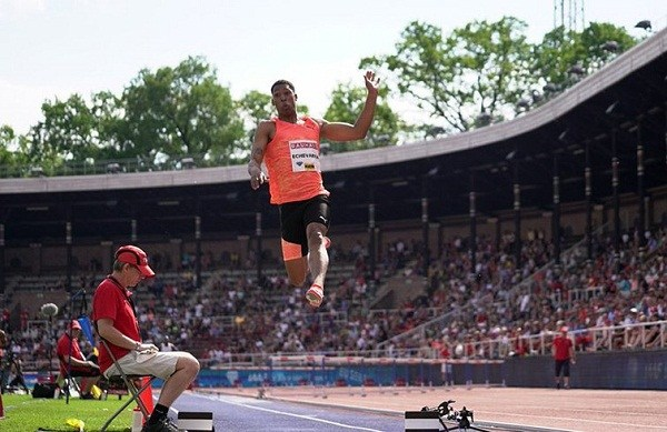 Camagüey´s athlete Echevarría jumps 8.92 meters and wins Cuba Athletics Cup