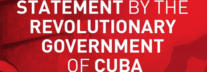 Condemns Cuba terrorist attack on Venezuelan power system