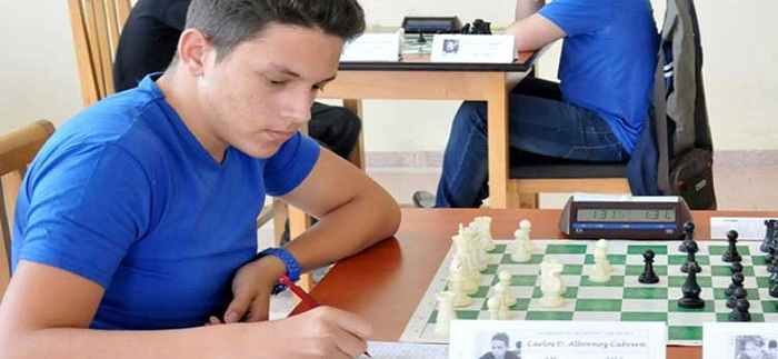 Albornoz, fifth among the 10 Young Masters participants